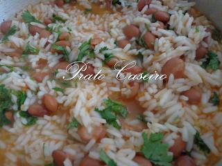 arroz de feijão manteiga