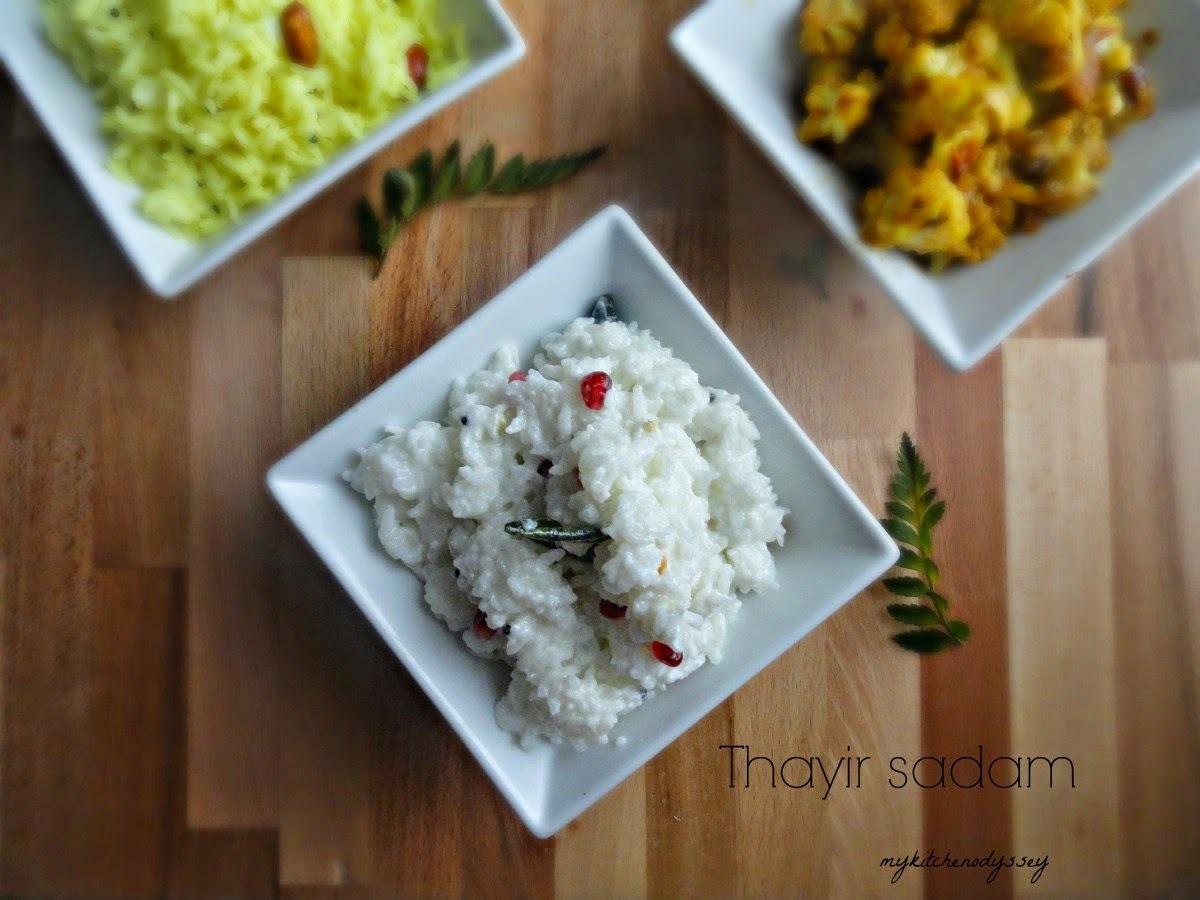 Curd Rice/Thayir Sadam