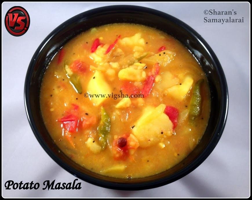 Potato Masala (Step by Step) Receipe