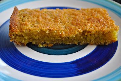 Pastel de pistache y almendra (30 minutos + 50 en el horno)