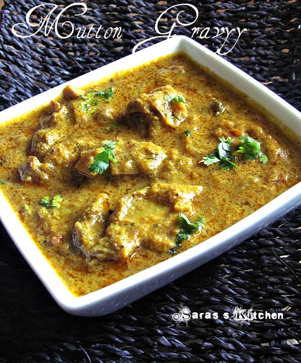 Mutton kuzhambu / Lamb gravy