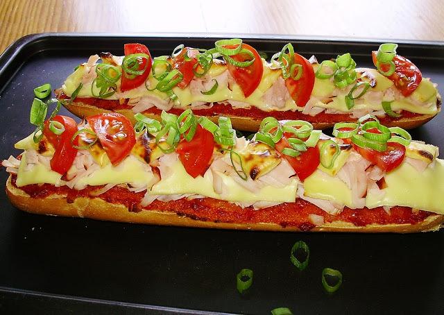 Pizza de Baguete