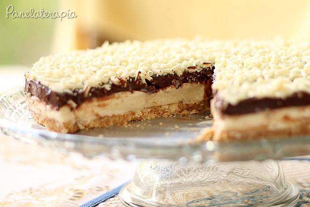 Torta de Limão com Ganache - Panelaterapia