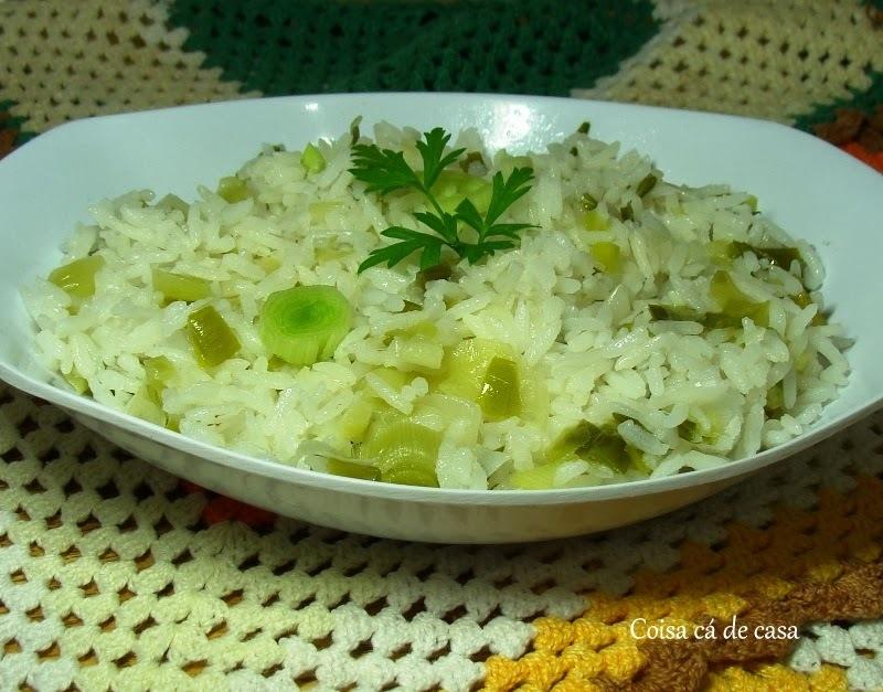arroz refogado no alho poro como fazer