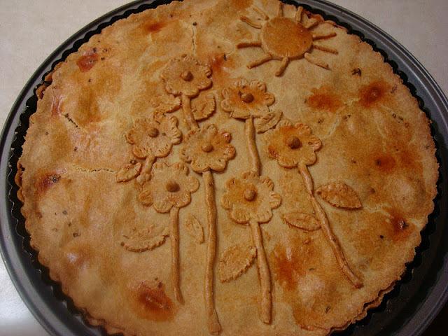 decoração torta salgada para chá de panela