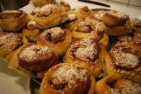 Pão de canela ao estilo de padaria