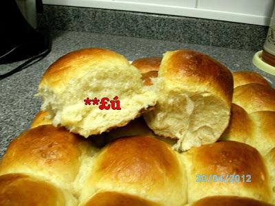 de pão de batata batido no liquidificador