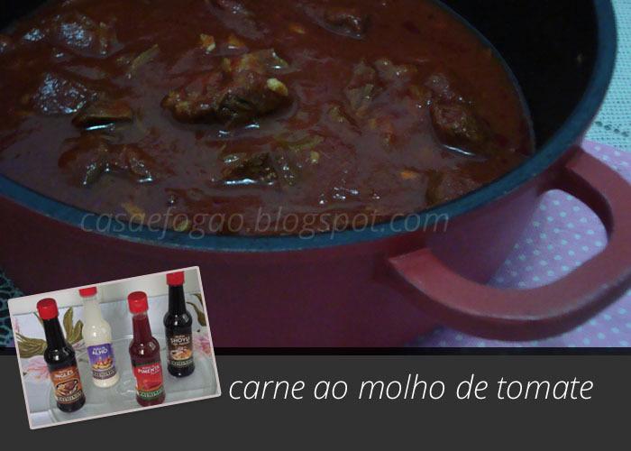 Carne ao Molho de Tomate para diversos pratos