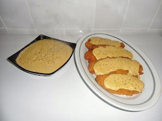 Filetes de Panga a la crema roteña