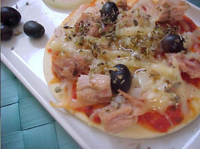 Pizza Light de Atum