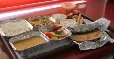 Indian Railway Thali