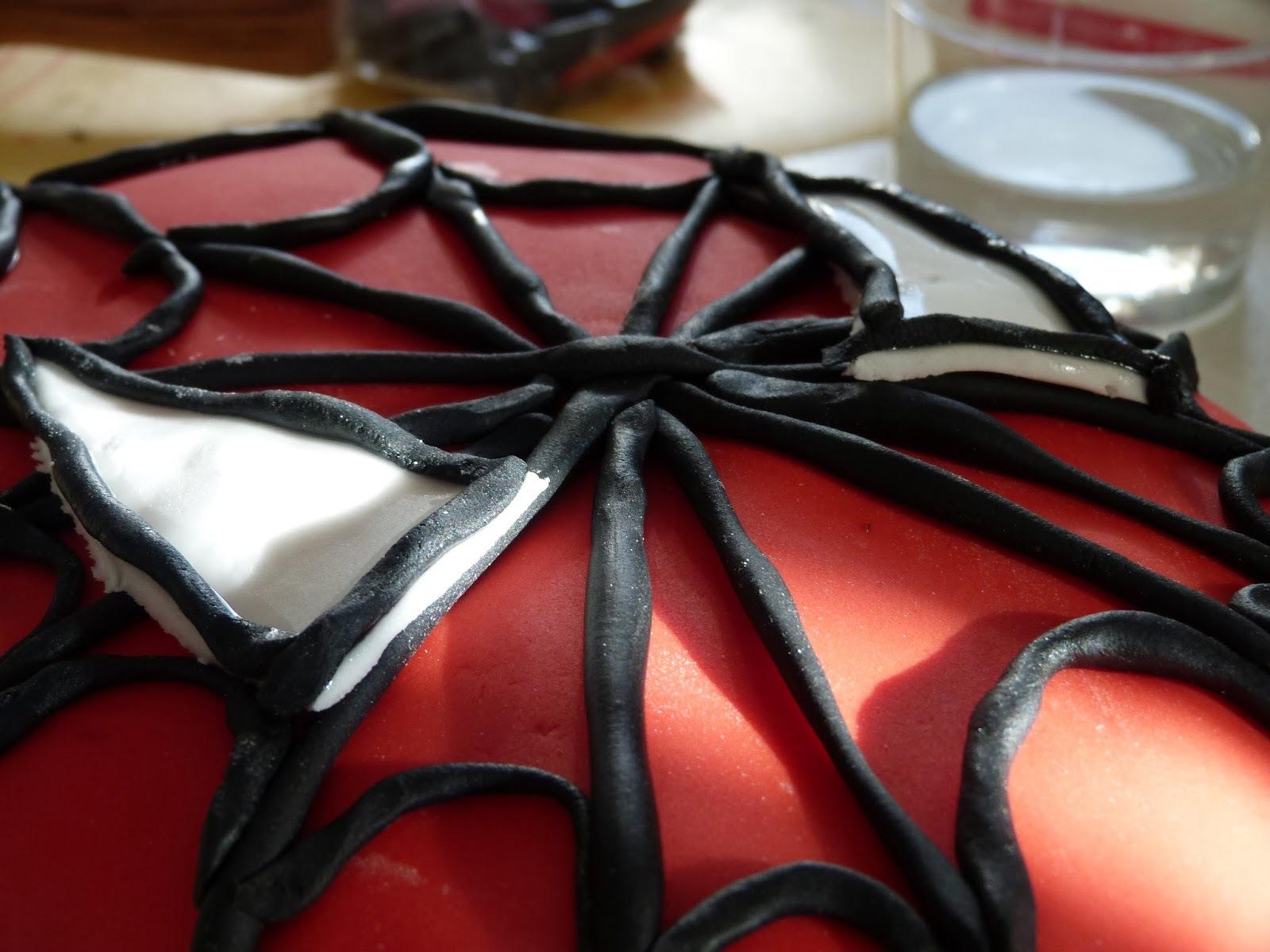 Maman, tu es un super héros-Layer Cake Spiderman