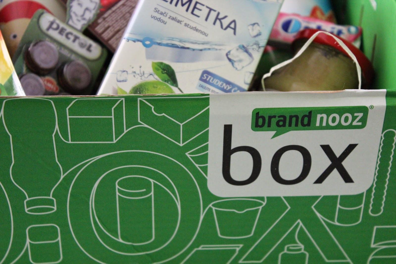 Brandnooz box - červen - ROZBALOVÁNÍ