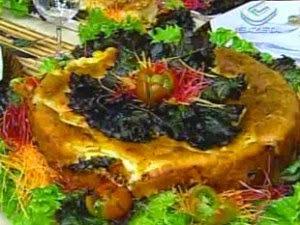 Torta de Frango com Escarola e Requeijão
