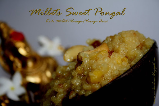 Millets Sweet Pongal