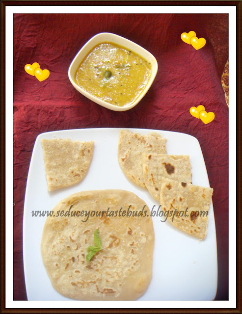 Cheese Stuffed Paratha | Kid's Lunch Box Recipe