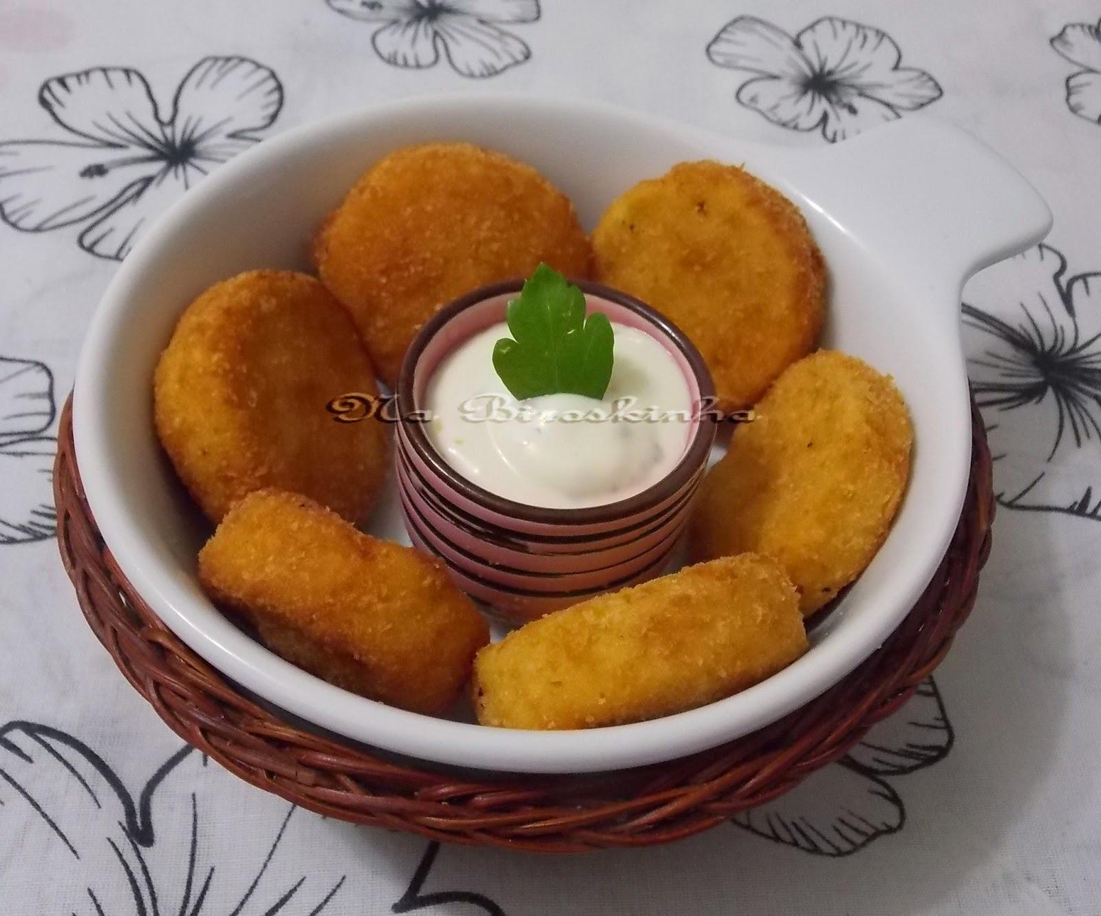 Nuggets Caseiros de Frango