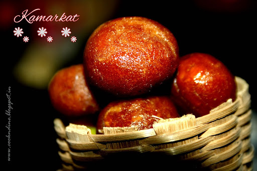 KamarKat....A sweet with Jaggery n Coconut