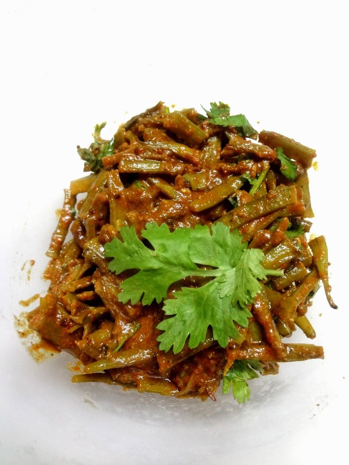 Cluster beans gravy  ( Gavar Ki sabzi )