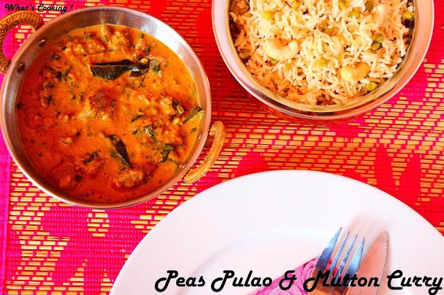 curry for peas pulao