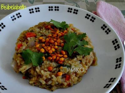 Healthy Sambar rice/Bisebelebath