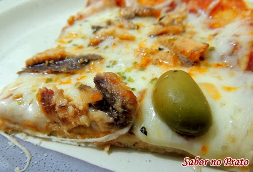 Pizza de Filé de Sardinha