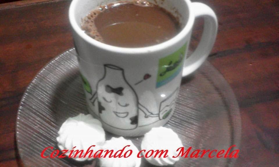 chocolate quente sem leite condensado