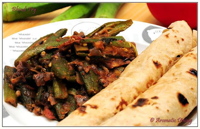 Bhindi Fry (Okra/Lady's finger Fry)