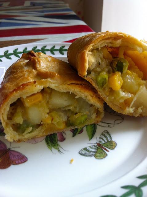 vegetable pasties