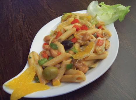PENNE AND RED BEAN SALAD