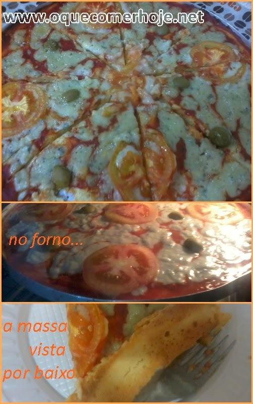 Pizza de liquidificador da Palmirinha receita
