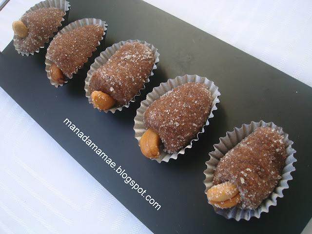 de cajuzinho de amendoim tradicional