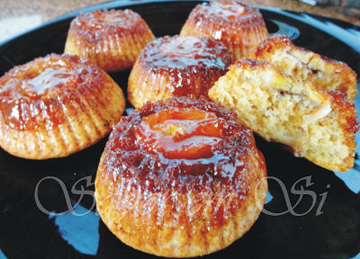Mini Muffins de Banana Caramelada Invertido Diet