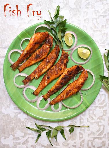 Fish fry small fish