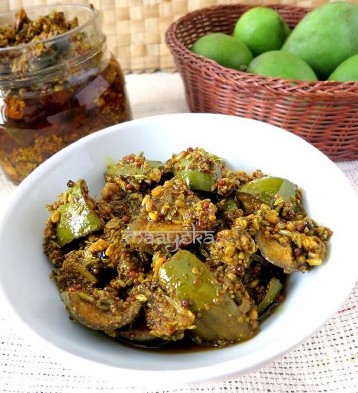 punjabi raw mango pickle