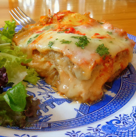 Ina's Sausage Lasagna