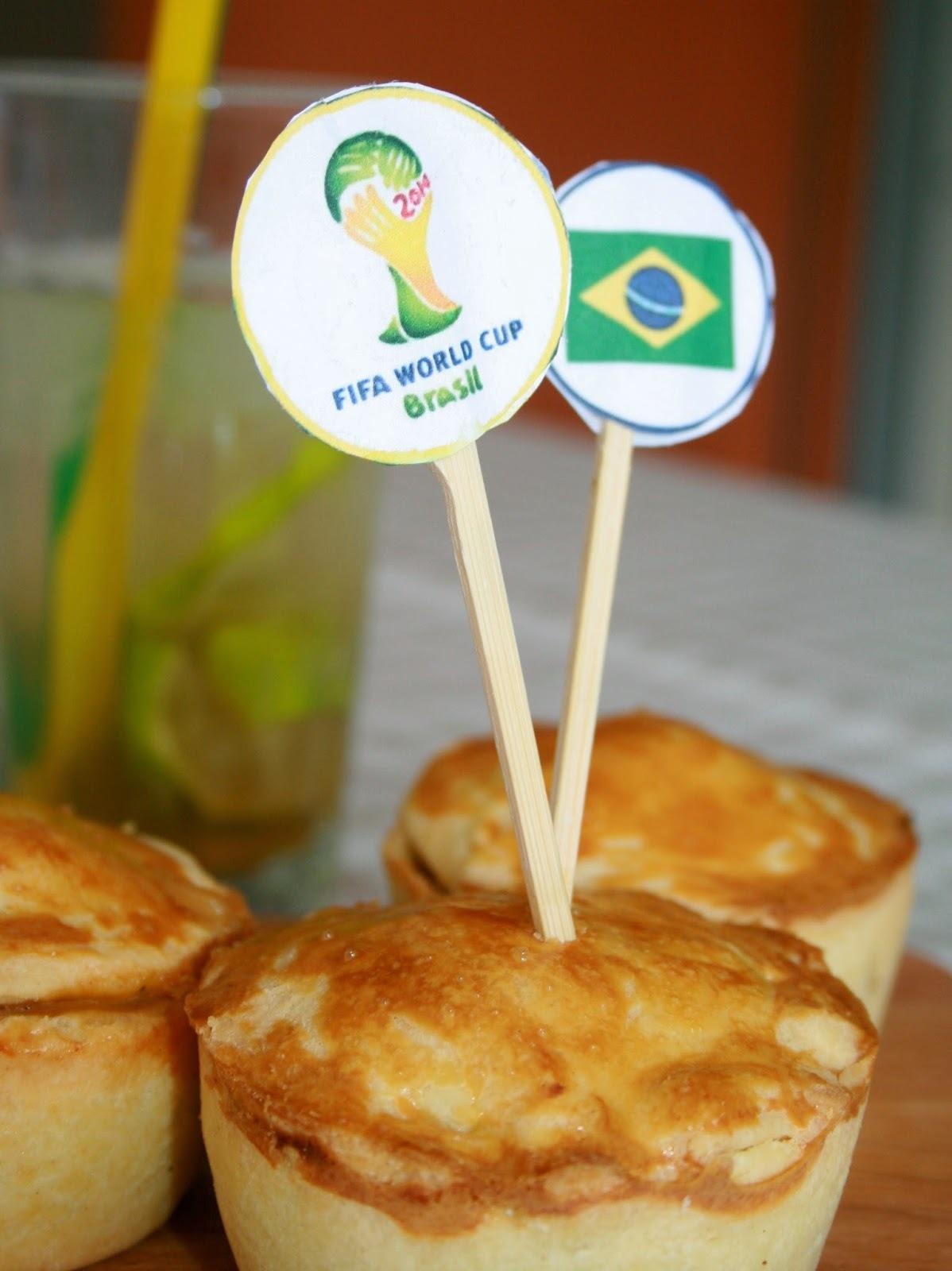 Taste of Brazil: Empadinha de Frango, Caipirinha und Beijinhos