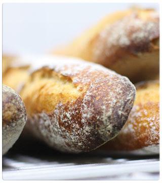 Brød, men ikke sirkus, på kjøkkenet