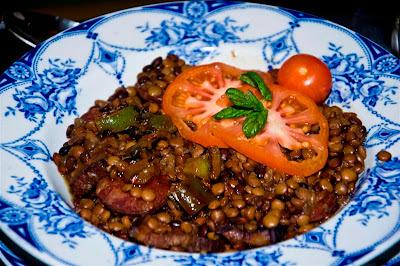 Guiso de Lentejas con Chorizo