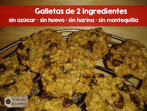 Galletas de 2 ingredientes