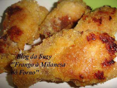 Frango à Milanesa no Forno (Muito Fácil)