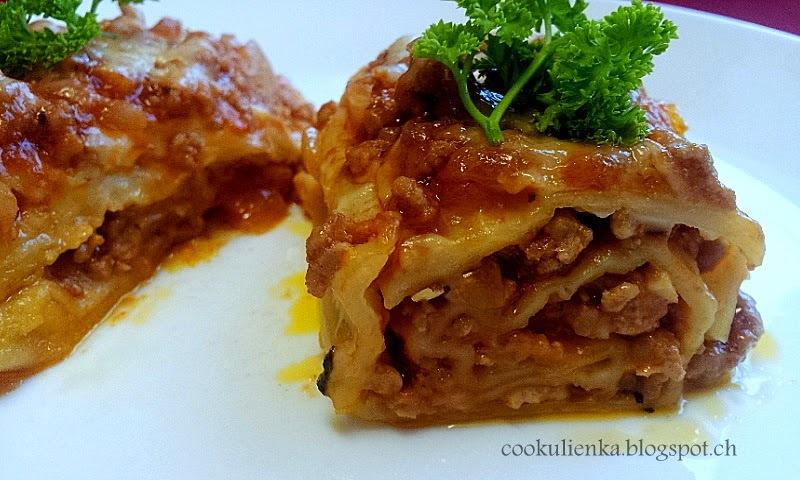 Domáce roládové lasagne