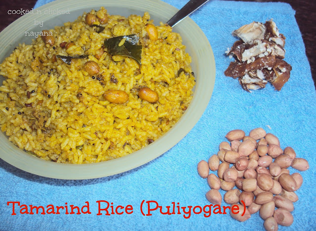 Tamarind Rice ( For the Potluck Party )