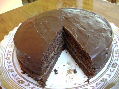 Torta de chocolate a la maicena