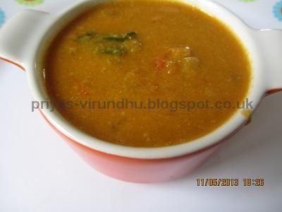 Tomato Kurma/Thakkali kurma[Perfect Side dish for Dosas, IDlis, Idiyappams...]