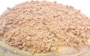 cha de amendoim feito com paçoca