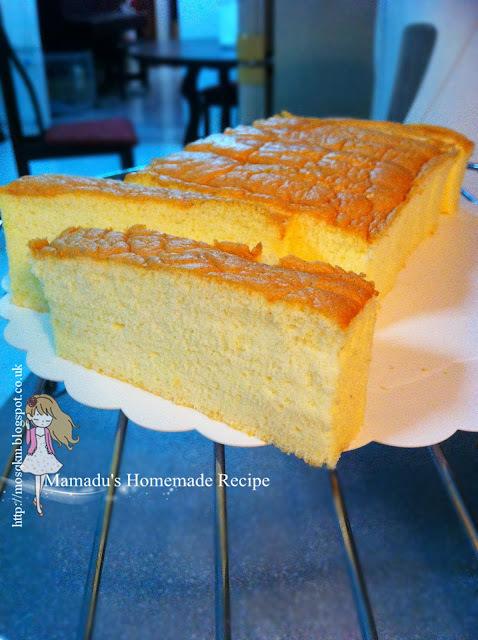 香草相思蛋糕~Vanilla Ogura Cake