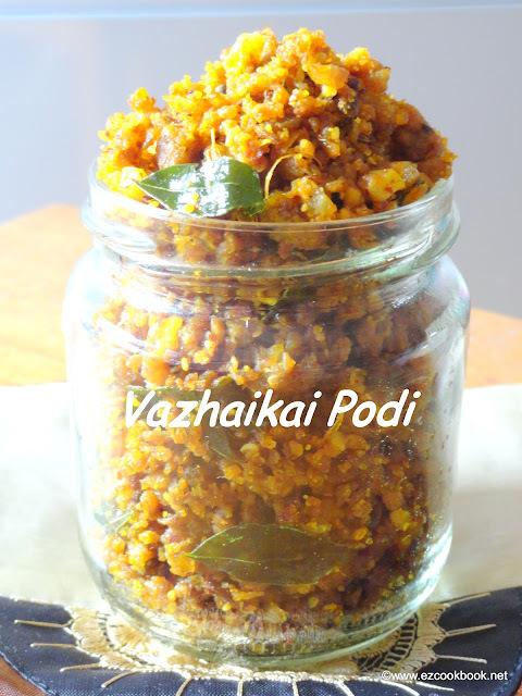 Vazhaikai Podi | Plantain Chops