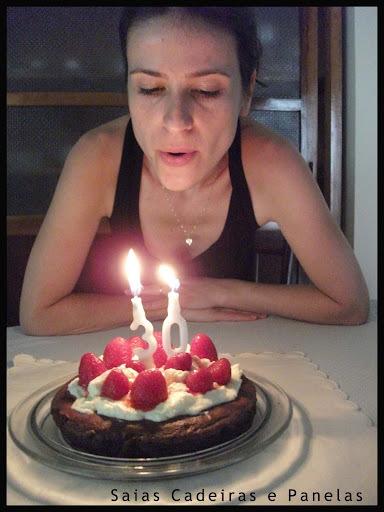 Meu bolo de aniversário