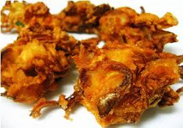 Crispy Onion Pakoda - Evening Snack - Excellent Lunch Side dish